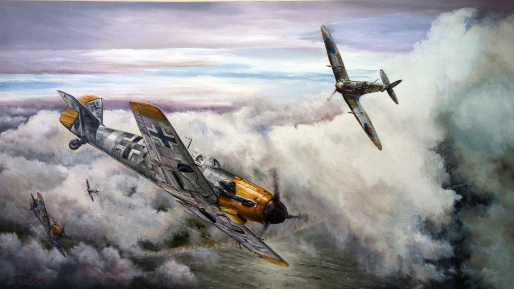 Spitfire vs Bf 109 (finalizado)